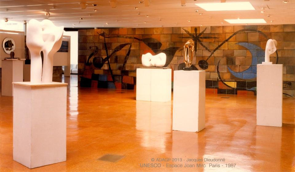 UNESCO à Paris – Espace Joan Miro – 1987