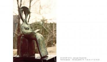 Femme assise – 12.76.02 – 1976