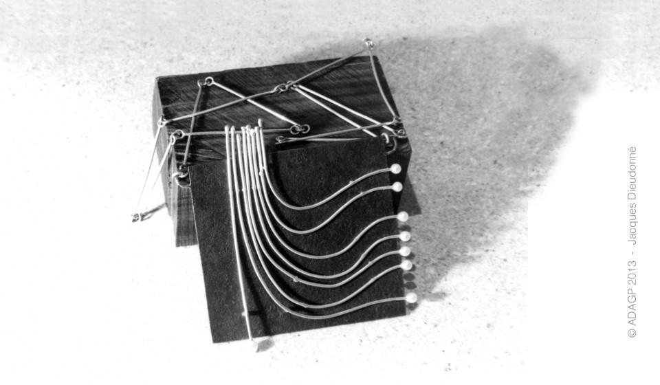 Broche & collier – Diplôme EADS – 1972