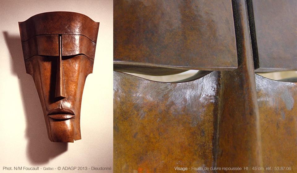 Visage cuivre – 54.87.06 – 1987