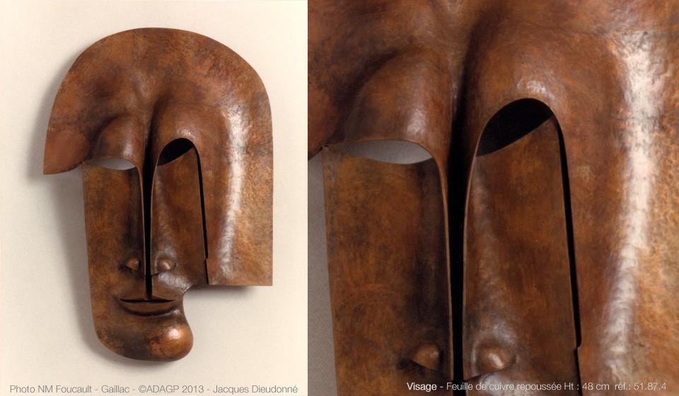 Visage cuivre – 51.87.04 – 1987